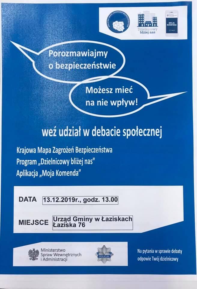 Debata społeczna w Łaziskach
